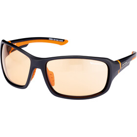 Alpina Lyron VL Occhiali, black matt-orange
